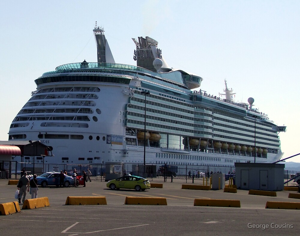 Mariner of the Seas-Victoria by George Cousins