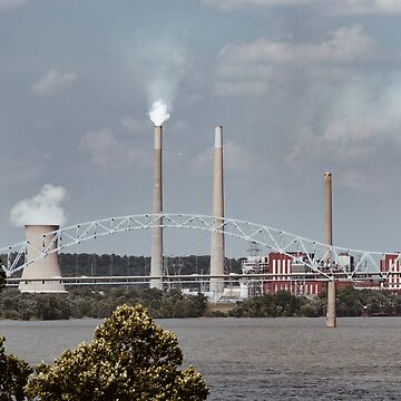 Lawrenceburg Indiana Nuclear Plant by pieperview