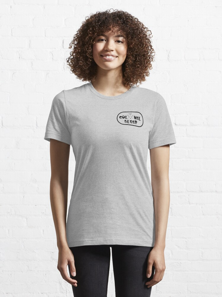 Alternate view of Colonel Bleep Logo Varriants Essential T-Shirt