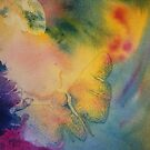 Watercolour: Moth in Watercolour by Marion Chapman