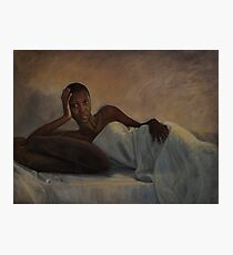 Banyana - original work 5' x 6' - oil on canvas by Avril Thomas Photographic Print