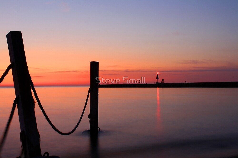 Pier Sunset by Steve Small