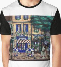 Italian Cafe Graphic T-Shirt