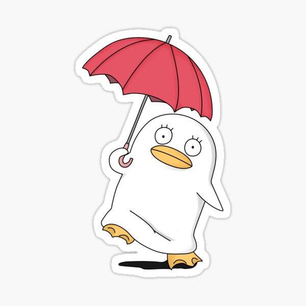 Mr. Raindrop Elizabeth Gintama  Sticker