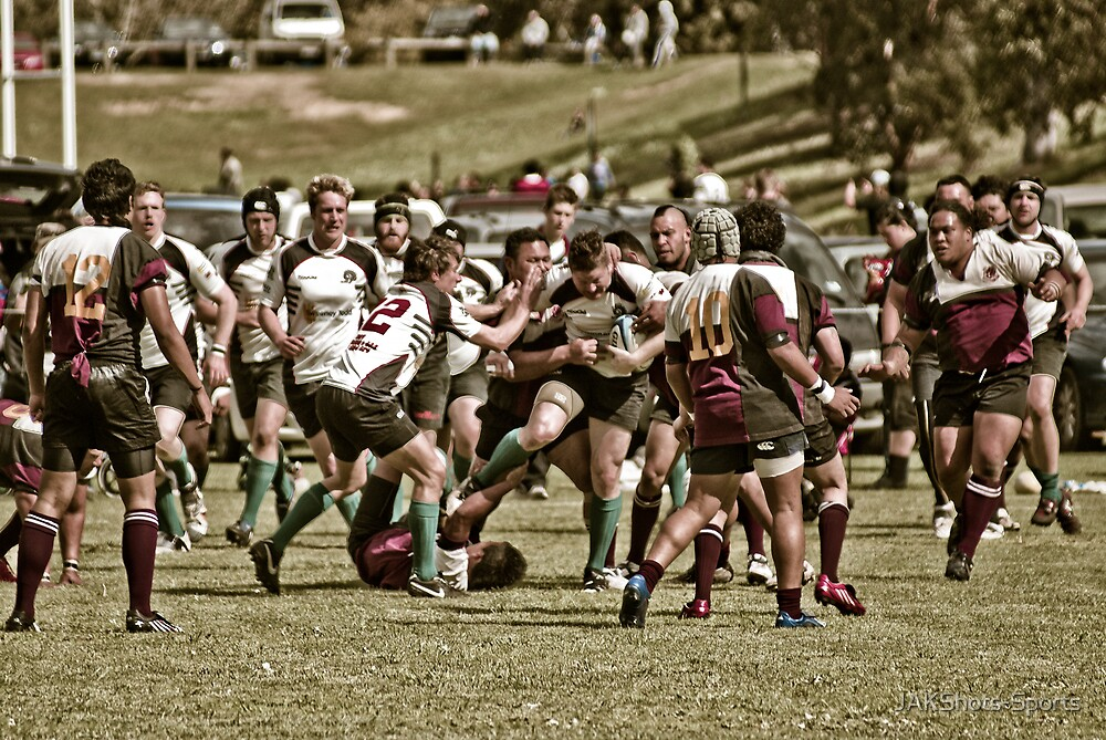 The Battle by JAKShots-Sports