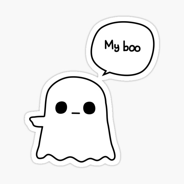 My Boo - Left Sticker