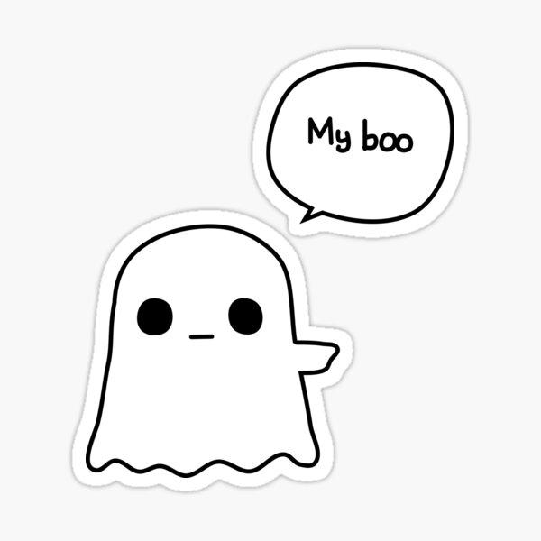 My Boo - Right Sticker