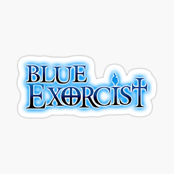 Blue Exorcist Title Sticker