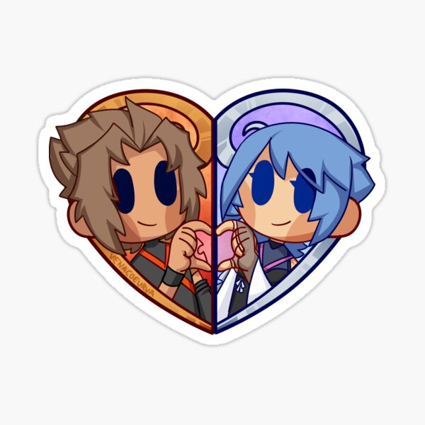 TerraAqua Heart Sticker