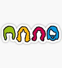 cheveux Sticker