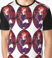 Bloody Kisses Graphic T-Shirt