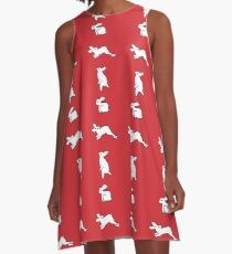 Goh Peik Lin - Rabbits A-Line Dress