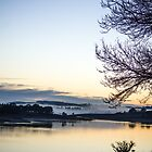 Sunrise at Carcoar Dam. by Clare Colins