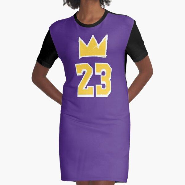 Lebron James Lakers Dresses | Redbubble