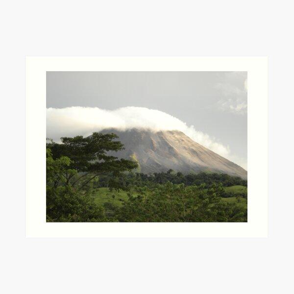 Volcano Arenal (Costa Rica) Art Print