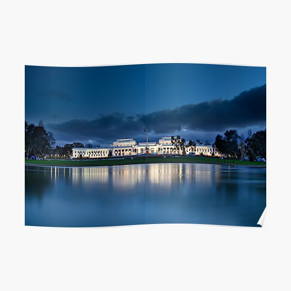 Old Parliament House In Canberra Poster