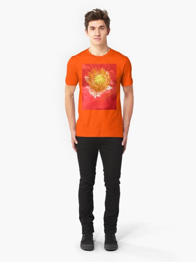 Alternate view of Poppy Cradle Slim Fit T-Shirt