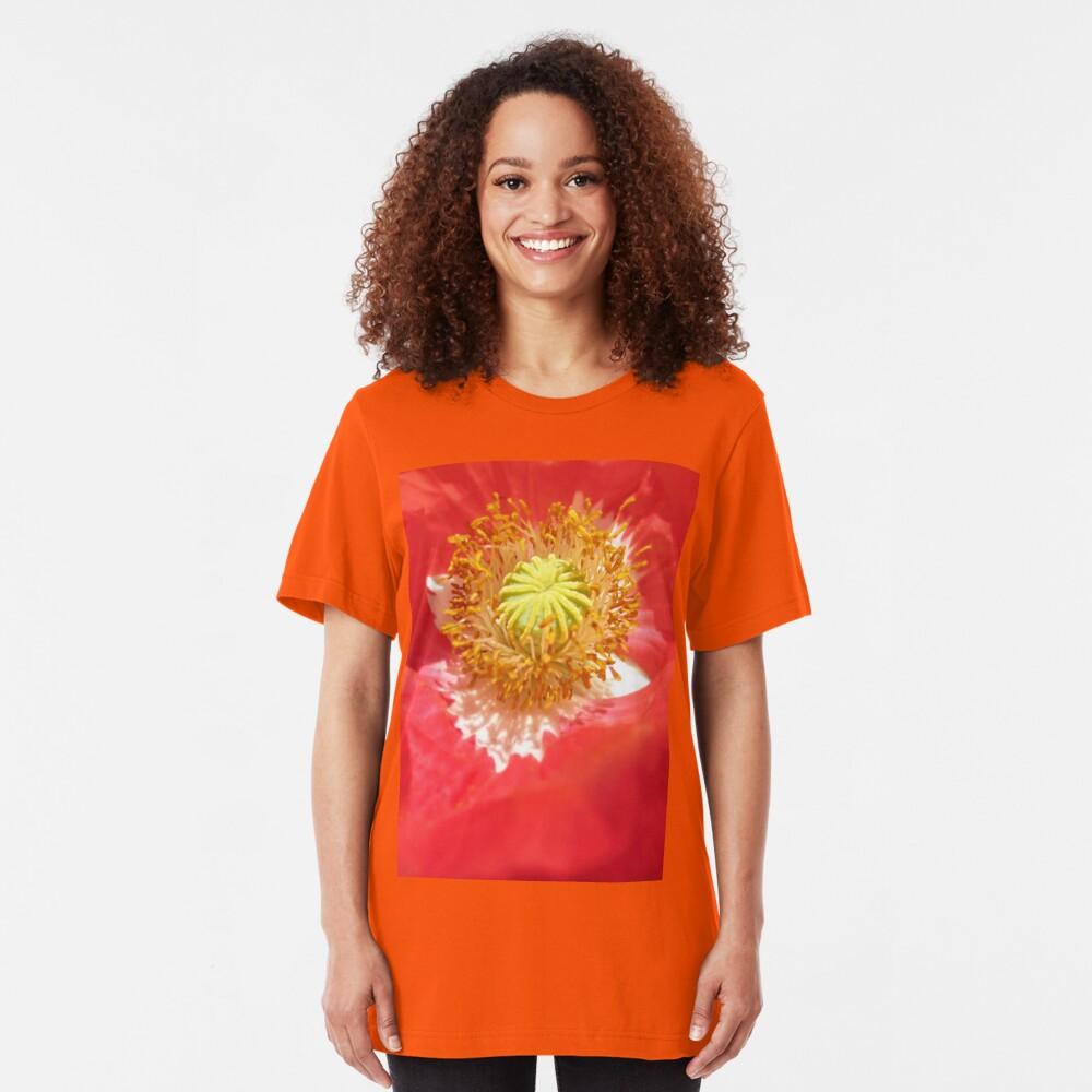 Poppy Cradle Slim Fit T-Shirt