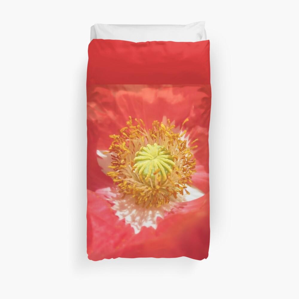 Poppy Cradle Duvet Cover