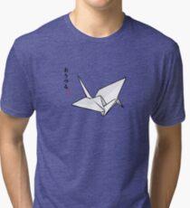 Paper Crane Color Tri-blend T-Shirt