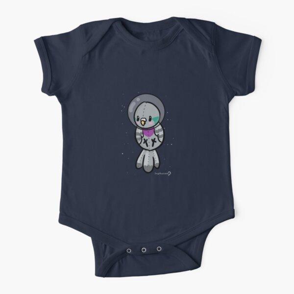 Space Baby - Pidgeon T-shirt Short Sleeve Baby One-Piece