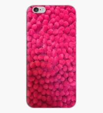 Fluffy red iPhone Case