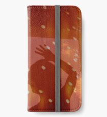 Dancer night stars fantasy analog film double exposure iPhone Wallet/Case/Skin
