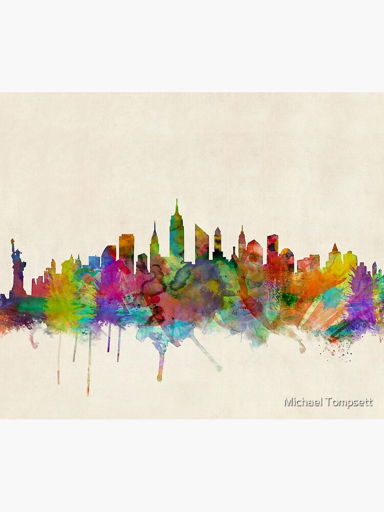 New York City Skyline von ArtPrints