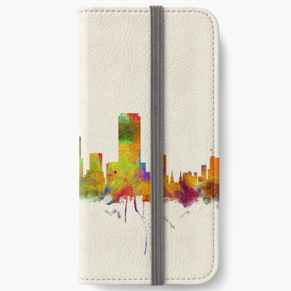 Skyline von San Francisco iPhone Flip-Case