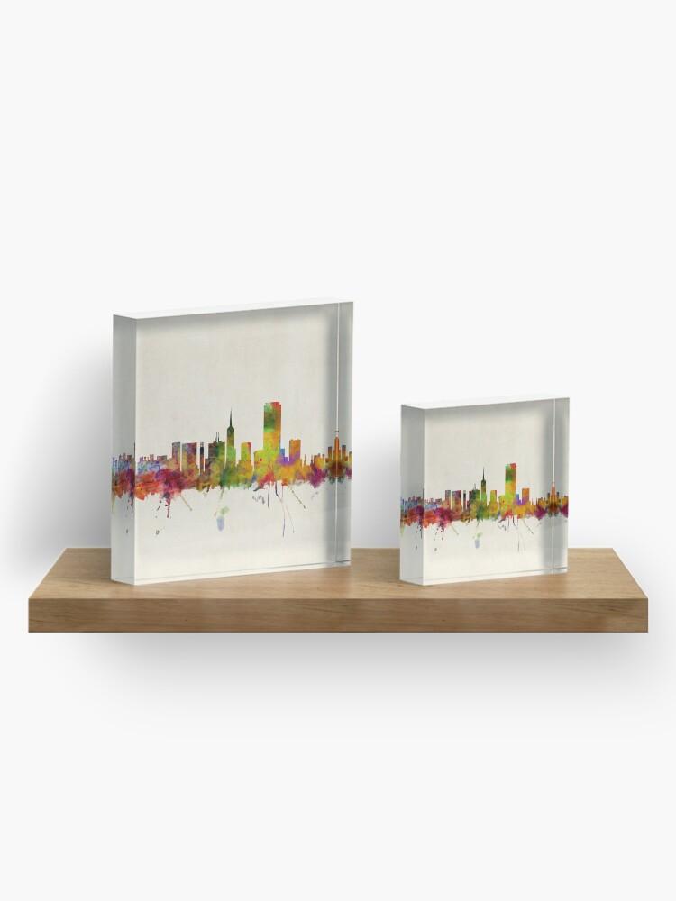 Alternative Ansicht von Skyline von San Francisco Acrylblock