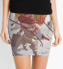 Pagan Viking Huntress Witch Mini Skirt