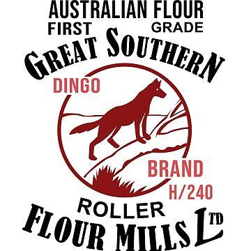 Dingo Brand Flour by LostPerth