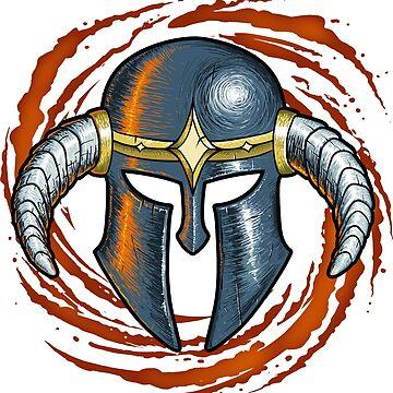 Warrior Helmet by TheMaker