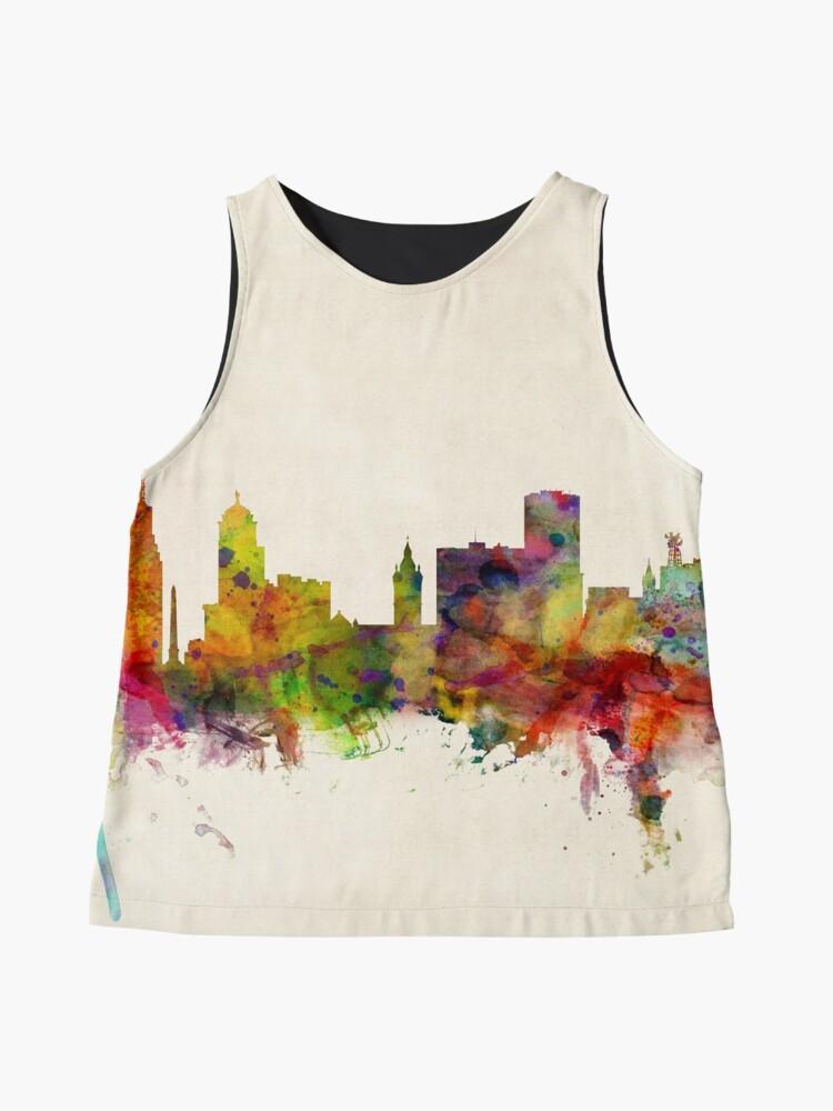Alternative Ansicht von Buffalo New York Skyline Stadtbild Ärmelloses Top
