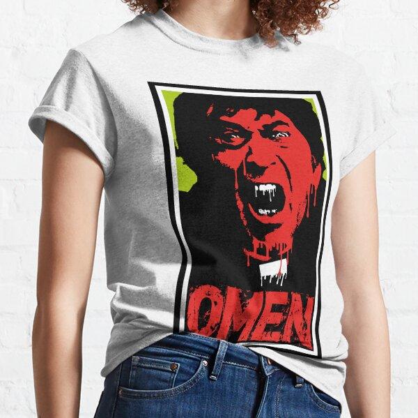 The Omen Father Brennan Halloween Horror Design Classic T-Shirt