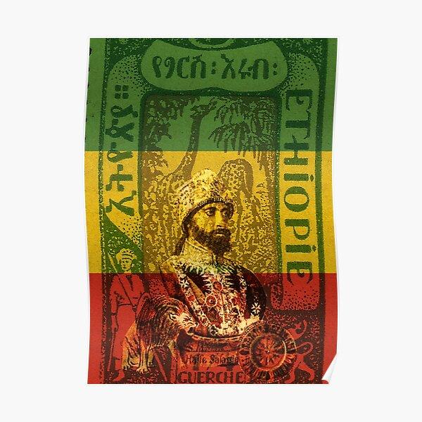 Haile Selassie Emperor of Ethiopia Poster