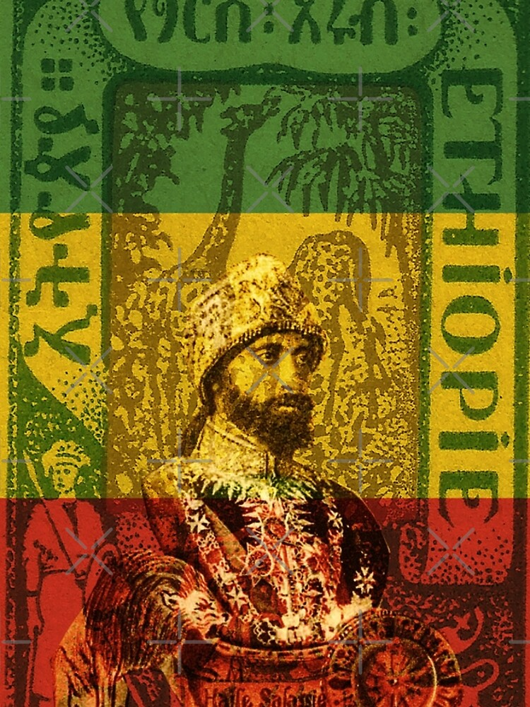 Haile Selassie Emperor of Ethiopia by rastaseed