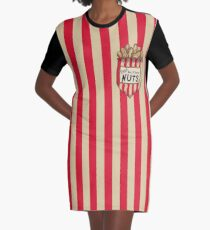 DXI - Deez Dumbo Nuts Graphic T-Shirt Dress