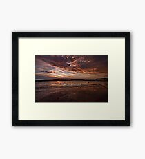 Force Without Wisdom Falls Of Its Own Weight Framed Print