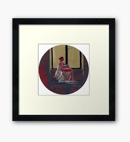 Round Window #2 Framed Print