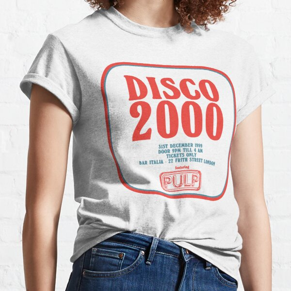 Pulp - Disco 2000 - Red and Blue Classic T-Shirt