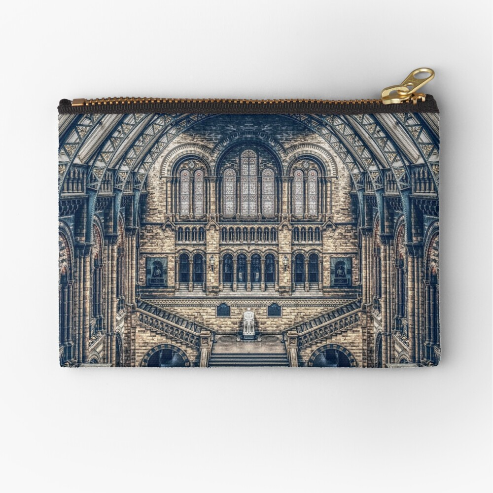 Architectural Reflections Zipper Pouch