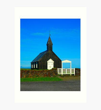 "Temples - ""Budir Church (IS)"" Art Print"