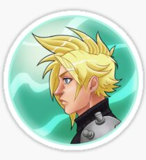 FF7 - Cloud Sticker