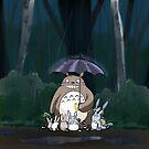 The Rain Protector by jupejuperocket