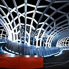 Webb Bridge, Docklands  by davidh1978