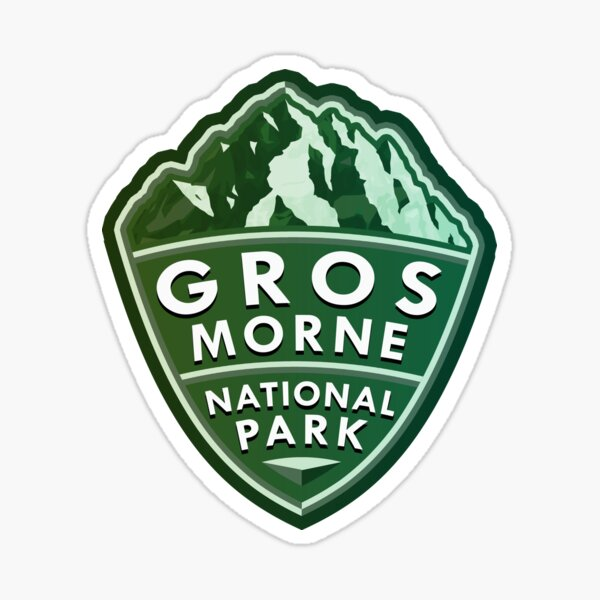 Gros Morne National Park Simple Sticker