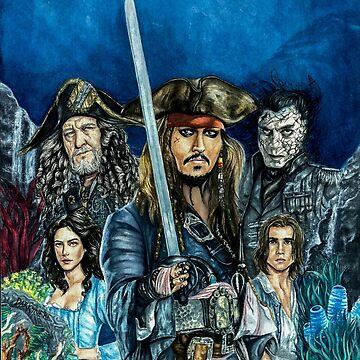 Pirates of the Caribbean- Salazar's revenge by Darkynere