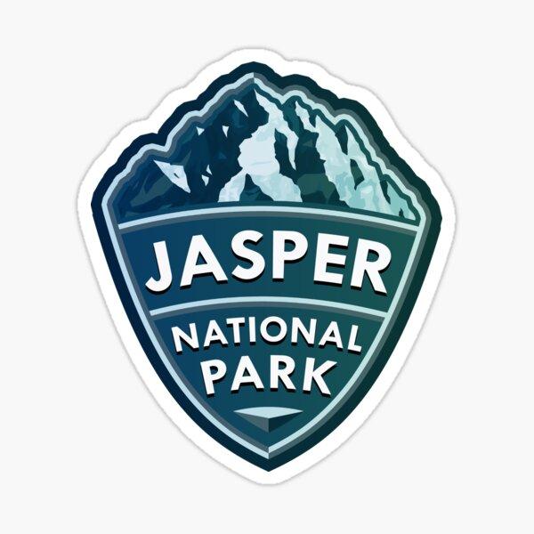 Jasper National Park Simple Sticker