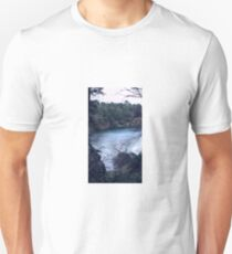 Blue Pool Nature View Unisex T-Shirt